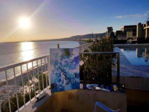 Mon atelier plein air à Nice