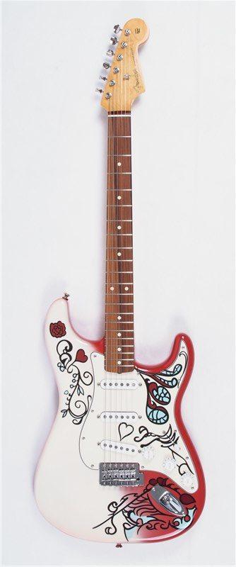 Stratocaster - Jimmy Hendrix