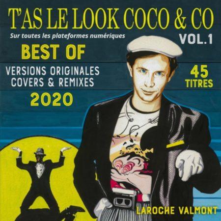 Pochette T'AS LE LOOK COCO & CO Volume 1 - Sur toutes les plateformes numériques (Musiques & Solutions) (1)
